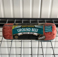 Frozen Ground Beef 5lbs Chub 80/20 (IBP)