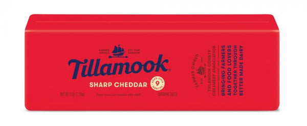 Sharp Cheddar Cheese Loaf 5lbs (Tillamook)