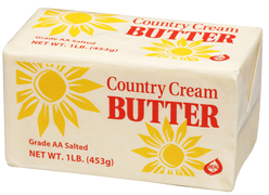 Salted Butter 1lbs (Country Cream)