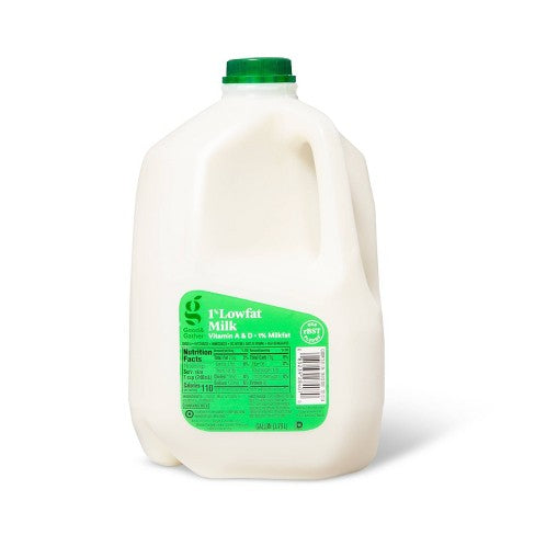 Milk 1% 1 Gallon (Spring Valley Dairy)