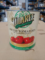 Canned Diced Tomatoes in Juice 6lbs (Tularee Growers)