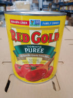 Canned Heavy Tomato Puree 6lbs (Red Gold)