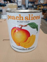Canned Sliced Peaches 6lbs (Mercantile & Fancy)