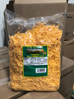 Shredded Feather Cheddar Cheese 5lbs Bag (Dairy Fresh Northwest)