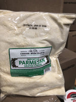 Grated Parmesan Cheese Imported 5lbs Bag (Cheese Merchants)