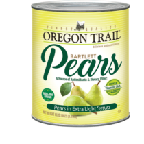 Canned Sliced Pears 7lbs (Oregon Trail)