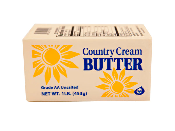 Un-Salted Butter 1lbs (Country Cream)