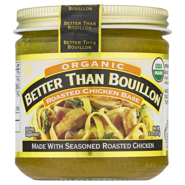 Base Better than Bouillon Organic Roasted Chicken 16 Oz.