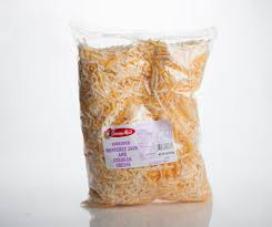 Cheese Shredded Feather Cheddar/Jack Blend 5lbs Bag (Dairy Fresh Northwest)