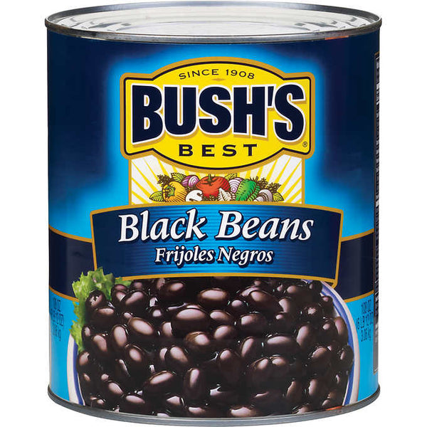 Canned Black Beans 6lbs (Bush's)