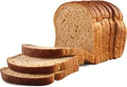 Frozen Sandwich Bread 100% Wheat Sliced Loaf (US Bakery)
