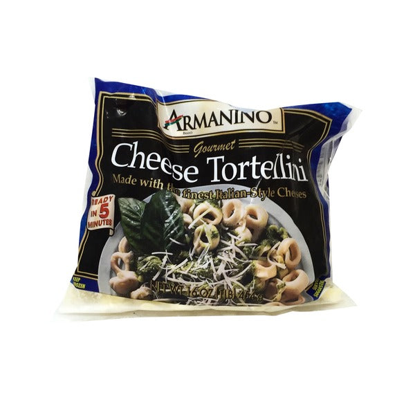 Frozen Cheese Tortellini 1lbs Bag (Armanino)