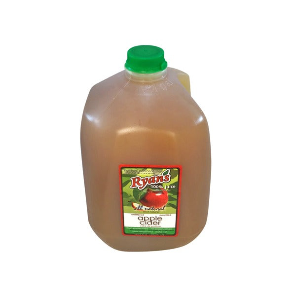 Fresh Apple Cider Pasteurized 1 Gallon (Ryan's)