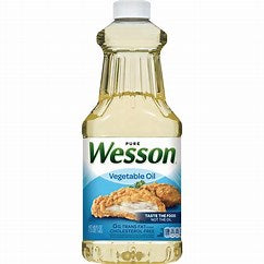 Vegetable Cooking Oil 24oz (Wesson)