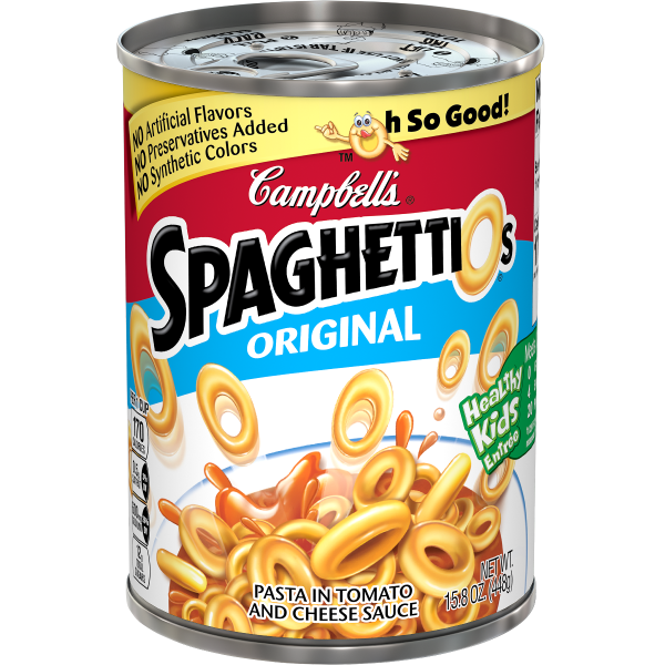 Canned Spaghetti-O's 15.8oz (Campbell's)