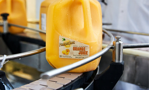 Fresh Orange Juice Pasteurized 1 Gallon (Perricone)