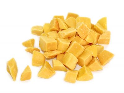 Frozen IQF Mango Pieces 5lbs Bag Organic