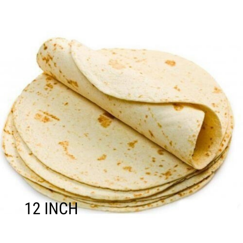 "Frozen Tortilla's Flour 12"" 12ct Package (Mission)"