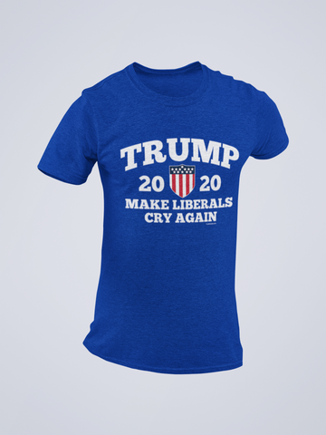 Trump 2020 Make Liberals Cry Again Tee