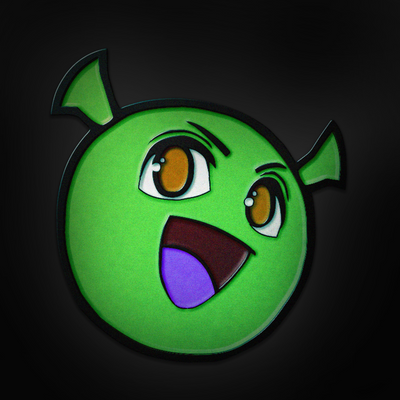 Glow in the Dark Shrekky Pin