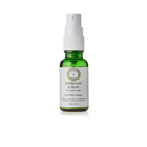 Frankincense & Myrrh Hand Hand Sanitiser Spray (20ml)