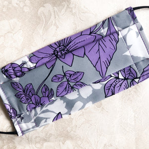 Lilac Rosebuds Community Mask - The Universal Mask
