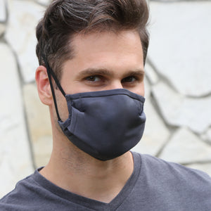 Washable, Reusable Fabric Face Masks with 5 Micron Filter