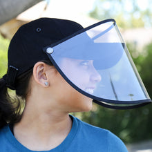 Load image into Gallery viewer, Baseball Cap with Face Shield - The Universal Mask