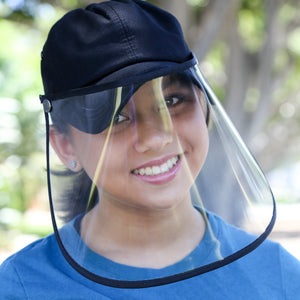 Baseball Cap with Face Shield - The Universal Mask