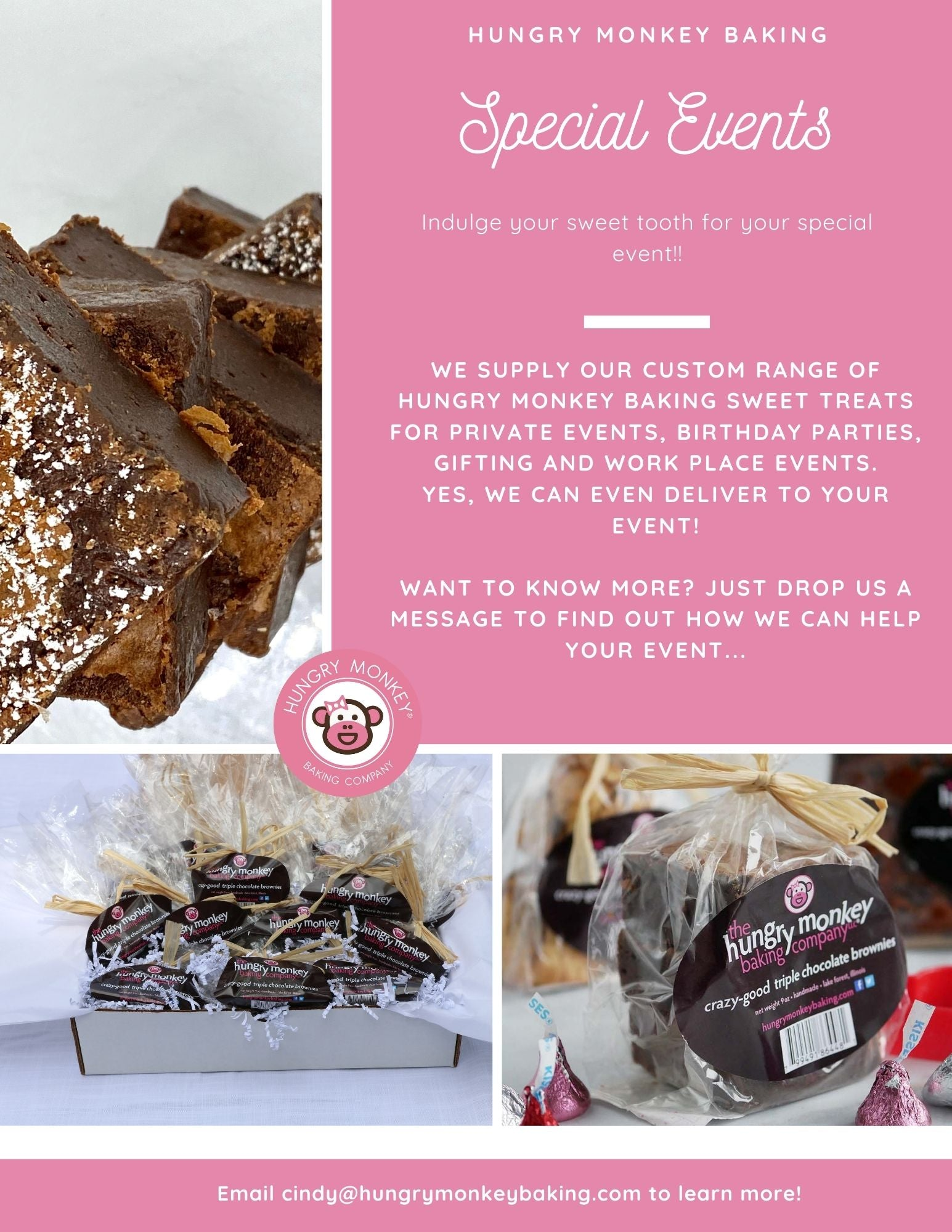 Hungry Monkey Baking Corporate and Special Events
