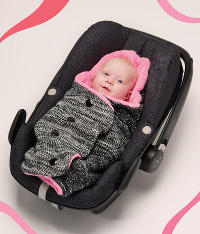 Safety first when using your baby car seat this winter