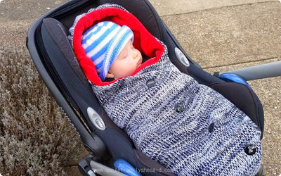 """The Cocoon is one of the best baby accessories we've ever tried ..."" Review by quitefranklyshesaid.com"