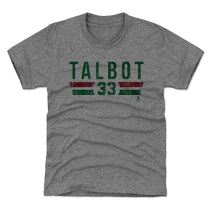 Cam Talbot Kids T-Shirt | 500 LEVEL