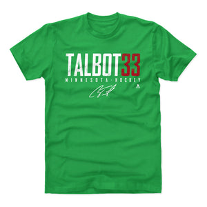 Cam Talbot Men's Cotton T-Shirt | 500 LEVEL