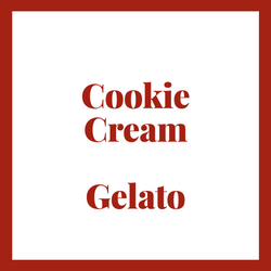 Little Bear Cookie & Cream Gelato