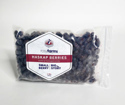 Rosy Farms A.B. Frozen Haskap Berries