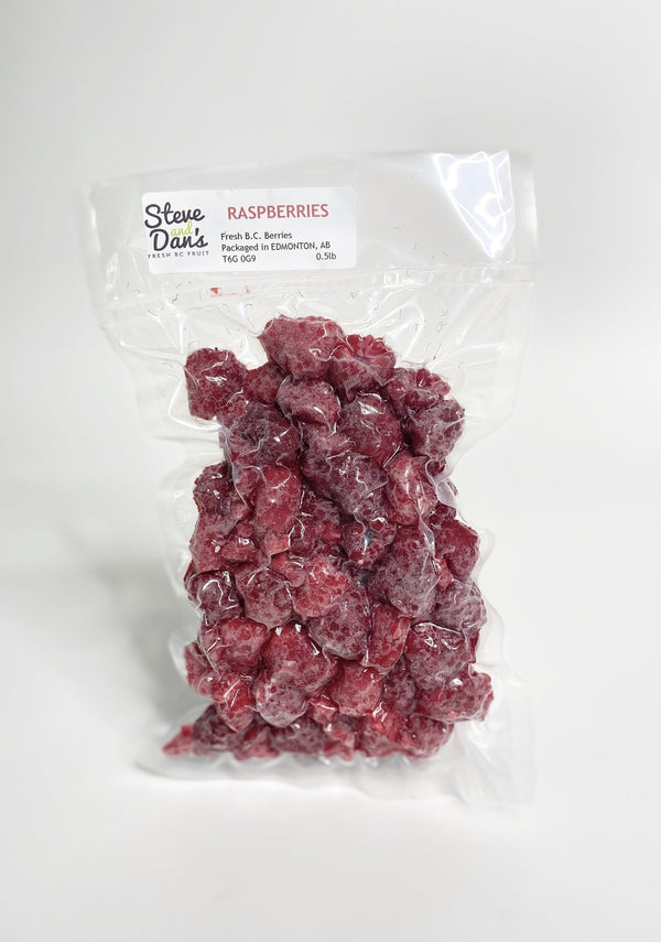 Steve and Dan's B.C. Frozen Raspberries