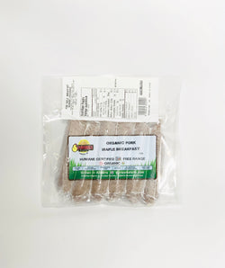 Sunworks Organic Pork Maple Breakfast Sausage (2 Pack)
