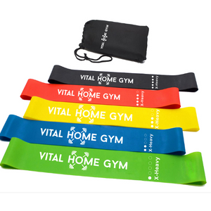 Vital Resistance Bands - Pack Of 5