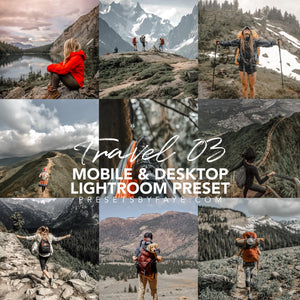 15 Travel Collection Presets | Lightroom Presets