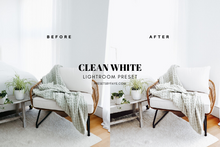 Load image into Gallery viewer, 10 Clean White Presets | Lightroom Presets