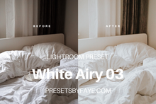 Load image into Gallery viewer, 5 White Airy Presets | Lightroom Presets