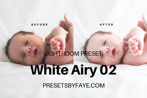 5 White Airy Presets | Lightroom Presets