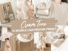Load image into Gallery viewer, CREAM TONE LIGHTROOM PRESETS - PresetsbyFaye