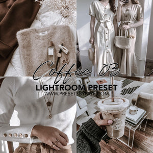 5 Coffee Presets | Lightroom Presets