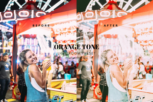 ORANGE TONE LIGHTROOM PRESETS - PresetsbyFaye