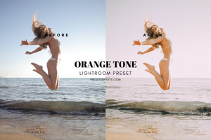 5 Orange Tone Presets | Lightroom Presets