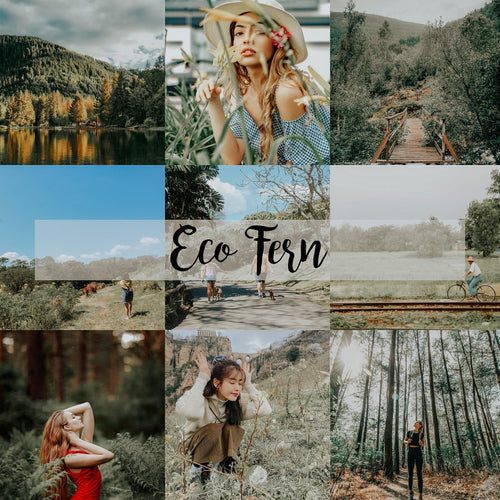 ECO LIGHTROOM PRESETS - PresetsbyFaye