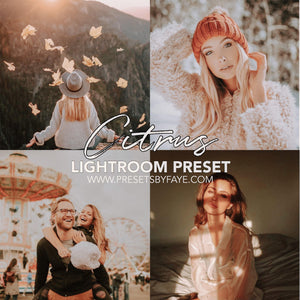 3 Citrus Presets | Lightroom Presets