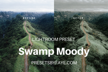 Load image into Gallery viewer, SWAMP LIGHTROOM PRESETS - PresetsbyFaye
